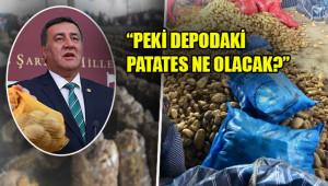 'Patatesin başkentine ithal patates'