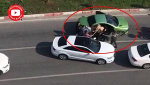 Şiddet, kadınları yolda yakaladı