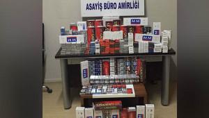 Suruç'ta kaçak sigara operasyonu