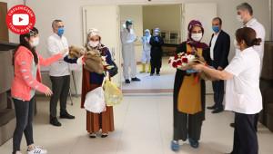Urfa'da 98 kişi koronavirüsü yendi