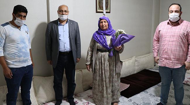 Viranşehir Belediyesi şehit annelerini unutmadı
