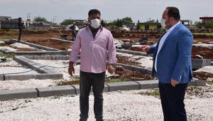 Viranşehir'de çok amaçlı parkta çalışma başladı