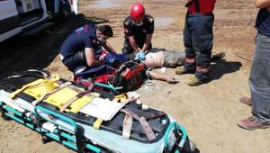 2 araç arasında kalan işçi öldü