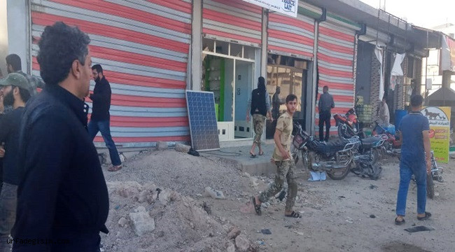 Afrin'de bomba yüklü araçla saldırı; 5 yaralı
