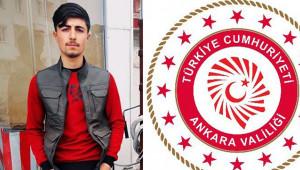 Ankara Valiliği'nden Barış Çakan açıklaması