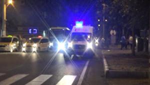 İki otomobilin çarpıştığı trafik kazasında 2'si ağır 5 çocuk yaralandı