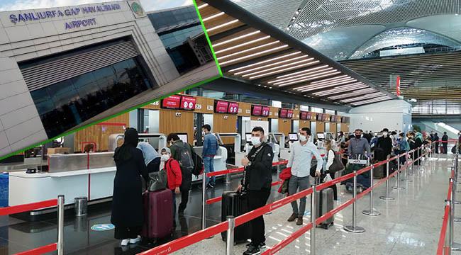 İstanbul'dan Şanlıurfa'ya uçuşlar başladı