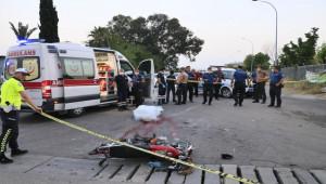 Motosiklet ile cip çarpıştı; 1 ölü, 3 yaralı