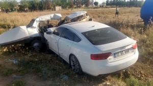 Akçakale Ziraat Odası Başkanı trafik kazası geçirdi
