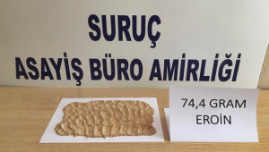 Şanlıurfa'da uyuşturucu operasyonunda 5 şüpheli yakalandı
