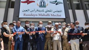 Şanlıurfa Valisi Suriye'de açılış yaptı