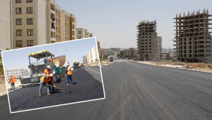 Seyrantepe'de o cadde asfaltlandı