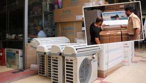 Sıcak hava klima satışlarını arttırdı