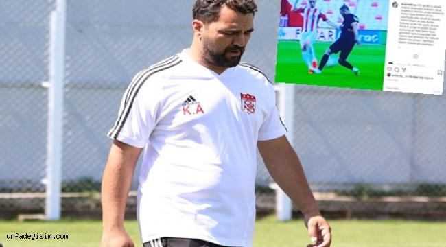 Sivasspor'dan hakem hatalarına tepki!