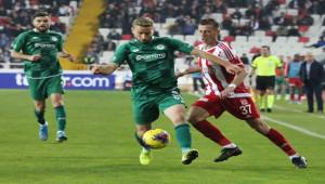 Sivasspor - Konyaspor 22. randevuda