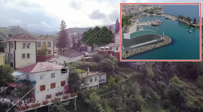 Trabzon'un teleferik projesi için harekete geçti