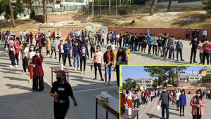 Urfa'da 'Kontrollü sınav'