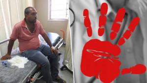 Urfa'da sağlık çalışanına şiddet