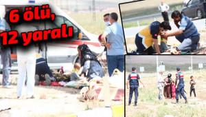 Urfalı tarım işçileri trafik kazası geçirdi