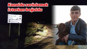 Urfalı tarım işçisi boğularak öldü