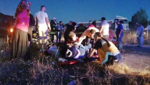 2 araç ortalığı savaş alanına çevirdi: 7 yaralı