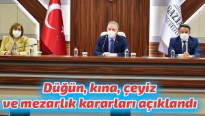 Antep'te bayram ve korona yasakları açıklandı