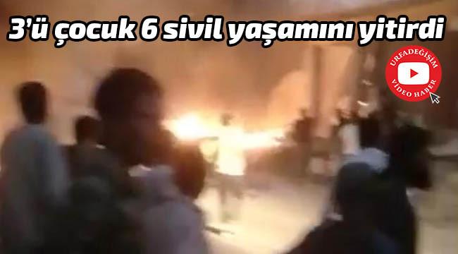 Barış pınarında bombalı saldırı!