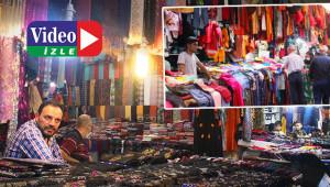 Bayram öncesi çarşı pazarlar boş