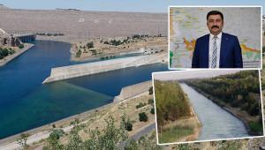 Çatlamış topraklar suya kavuştu, üretim arttı