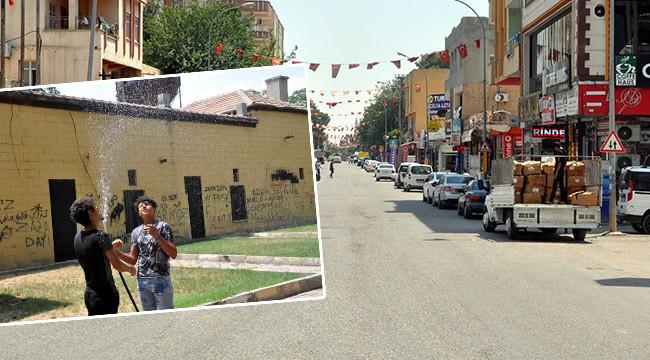 Çöl sıcakları artınca sokaklar boşaldı