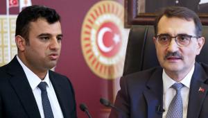 Elektrik kesintilerini Enerji Bakan'ına sordu