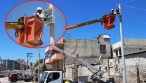 Eyyübiye'ye 5 milyon elektrik yatırımı