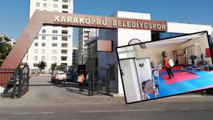 Futbolcular uğurlandı, tesis ilaçlandı