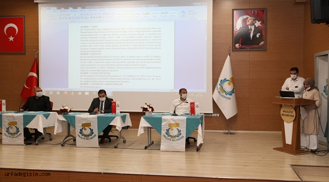 Haliliye'de Kent Estetiği Kurulu' kuruluyor