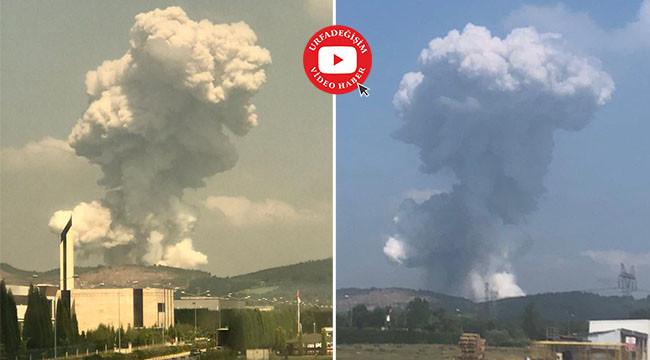 Havai fişek fabrikasında patlama: 4 ölü