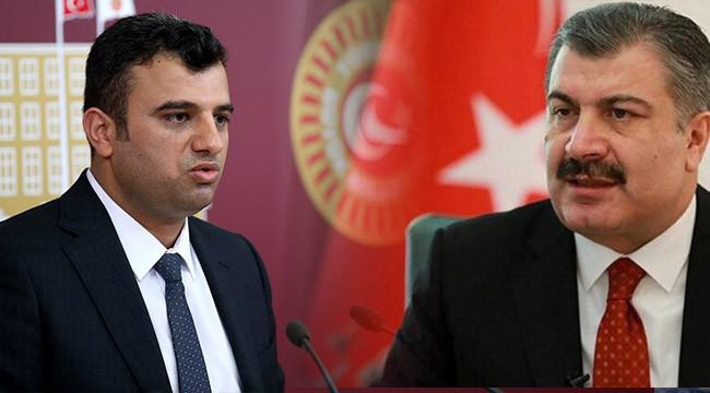 Öcalan artan vaka sayısını Bakan koca'ya sordu