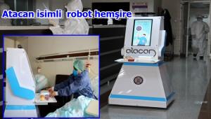 Robot hemşire üretildi