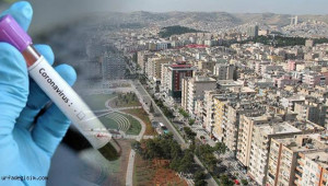 Şanlıurfa'da 120 ev karantinaya alındı