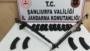 Siverek'te kaçak silah yakalandı