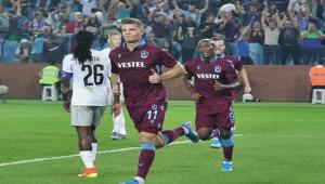 Trabzonspor'da Sörloth bir ilki yaşadı