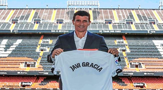 Valencia ile Javi Gracia anlaştı