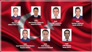 Van'da şehit olan polislerin isimleri açıklandı