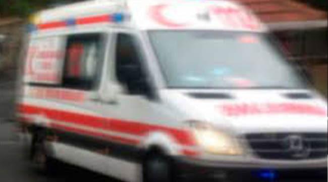 Araçlar çarpıştı, 3 kişi yaralandı