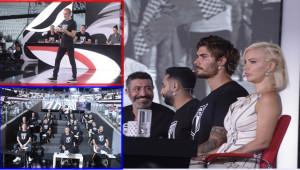 Beşiktaş'a Destek Gecesinde Beşiktaş'ı Bırakmadılar