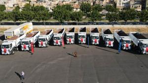 Büyükşehir 10 yeni araç aldı