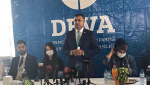 Deva Partisi tanıtım toplantısı yapıldı