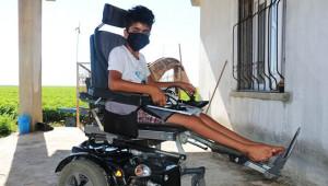 Engelli gencin hayali gerçek oldu