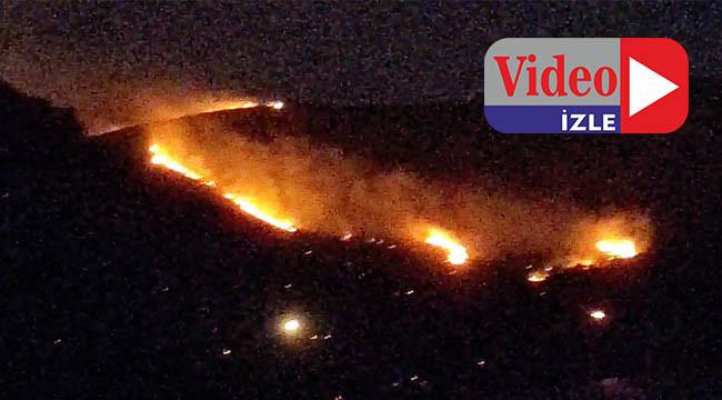 Orman yangını saatler sonra söndürüldü