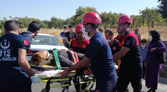 Karaköprü'de kaza: 4 yaralı