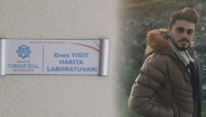 Kazada vefat eden öğrencisinin ismini laboratuvara verdi